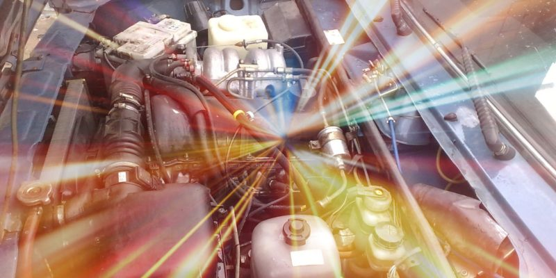 Чистый двигатель Ваз-2107