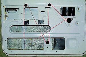 Схема протяжки троса