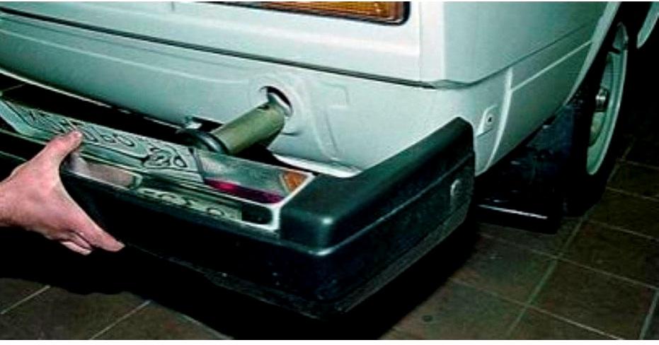 Передний и задний бампер ВАЗ 2105 как снять и поставить инструкции с фото и видео