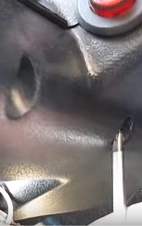 Снимаем пластиковый кожух